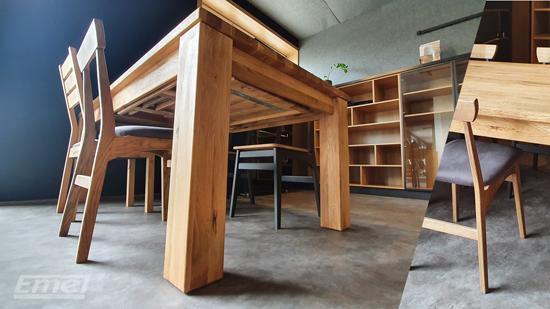 Stoły, krzesła - EMEL-MEBLE - kuchnie na wymiar, zabudowy w Kole